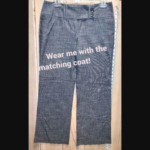 IZ Beyrs Wide Leg Dress Pants
